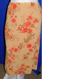 Gorgeous Skirt Ladies 12 Emma James Reversible